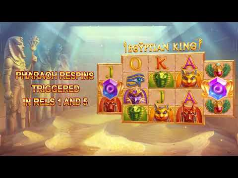 Xtreme Pays Slot Egyptian King by iSoftBet Goes Live