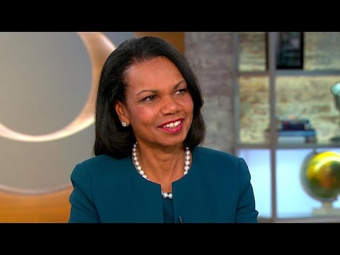 Condoleezza Rice on new book promoting democracy