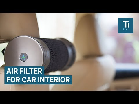 This filter can remove toxic air pollution from inside your car