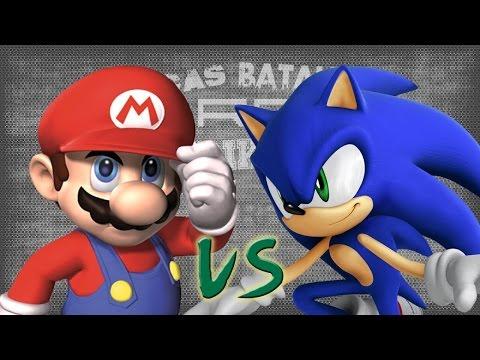 Mario vs Sonic. Épicas Batallas de Rap...