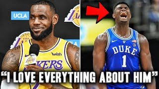 The Truth About The Lakers Chance At Zion Williamson In The 2019 NBA Draft