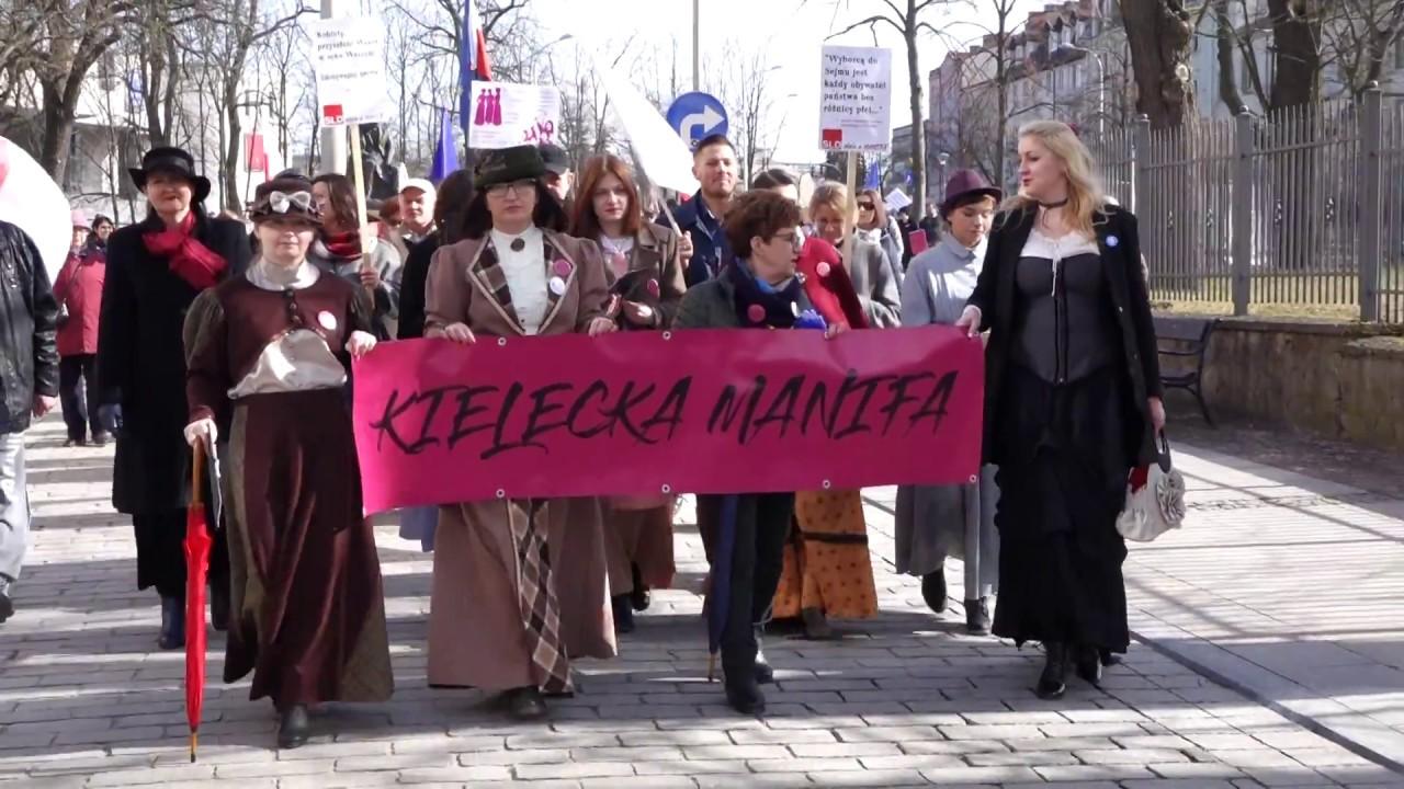 Kielecka Manifa 10.03.2018