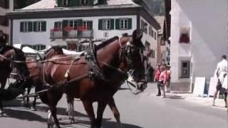 サンモリッツ シルスマリアの街歩き Sils Maria