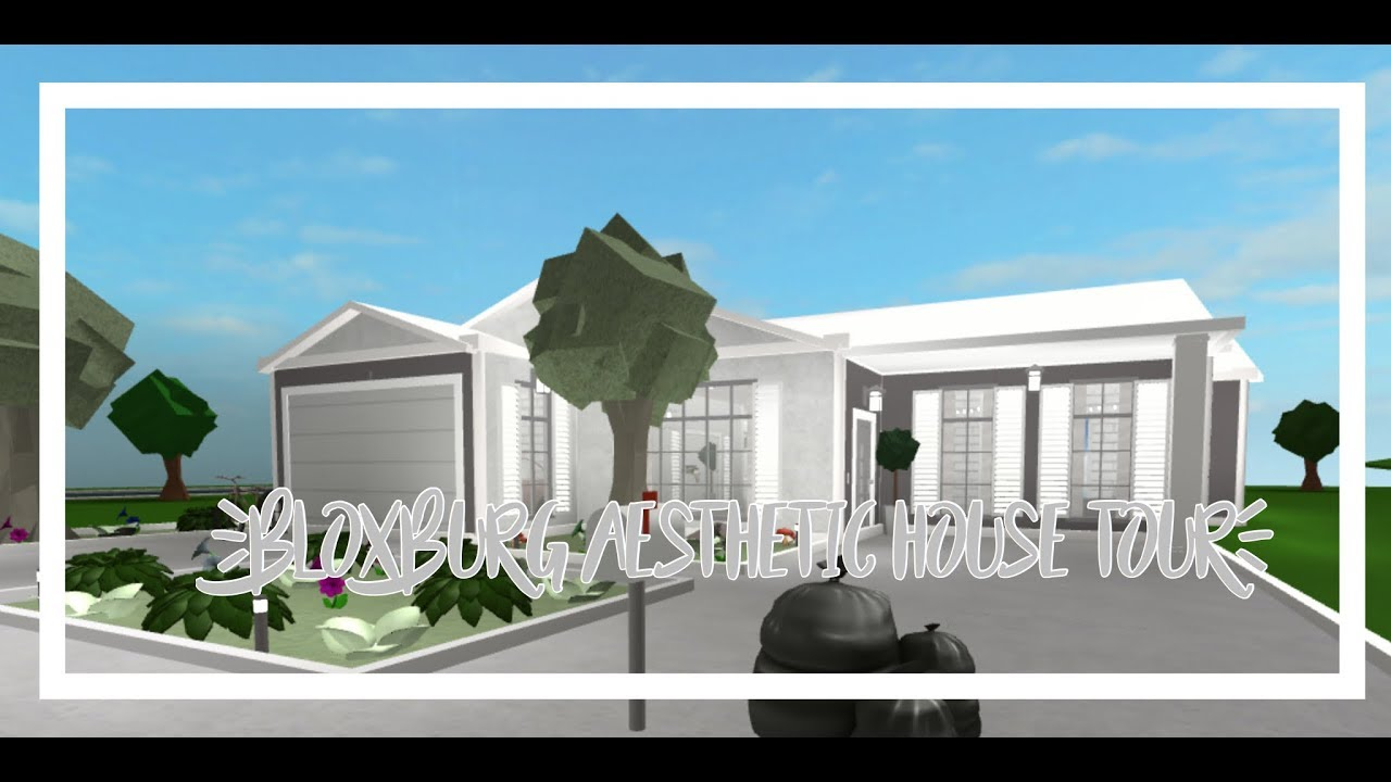 Aesthetic One Story Small Family Home Welcome To Bloxburg