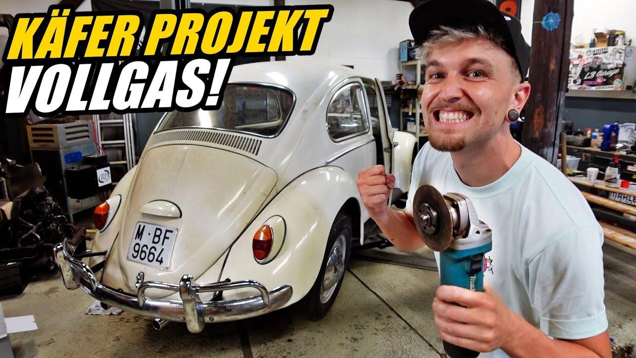 Frisch GEKAUFT und schon ZERRUPFT | VW Käfer Projekt beginnt