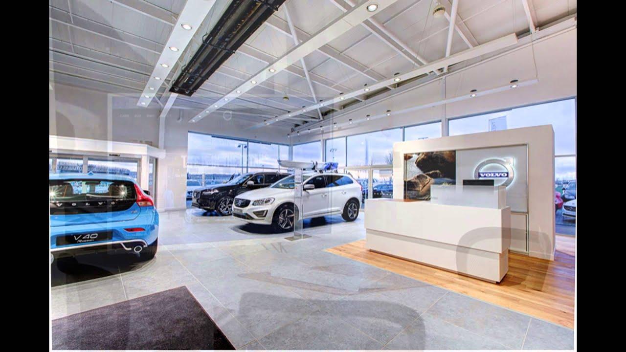 Barnetts Volvo VRE Concept Showroom, Dundee - YouTube
