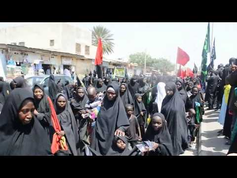 Female in Ashura Procession in Kano. Organized by Islamic Movement In Nigeria. 24/10/2015
