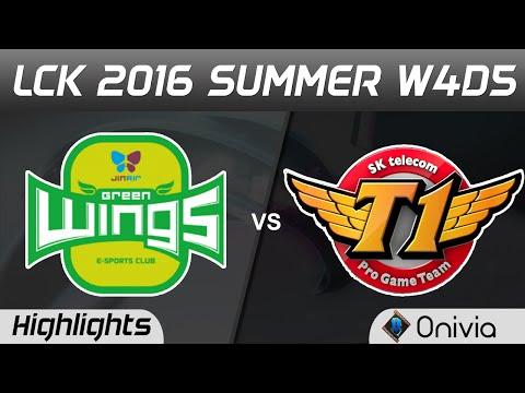 JAG vs SKT Highlights Game 2 LCK Champions W4D5 2016 Jin Air vs SK Telecom T1