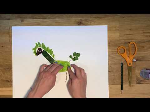 Make Leaf Animal Collage with Leila joon!