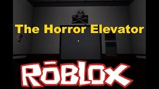 The Horror Elevator By zMadZeus. Resumen [Horror Game] [Roblox]