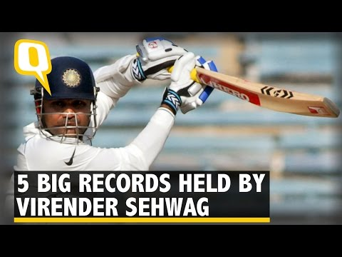 The Quint: Birthday Special – Five Big Records Held by Virender Sehwag