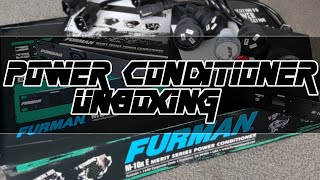 Furman M10XE - Power Conditioner Unboxing