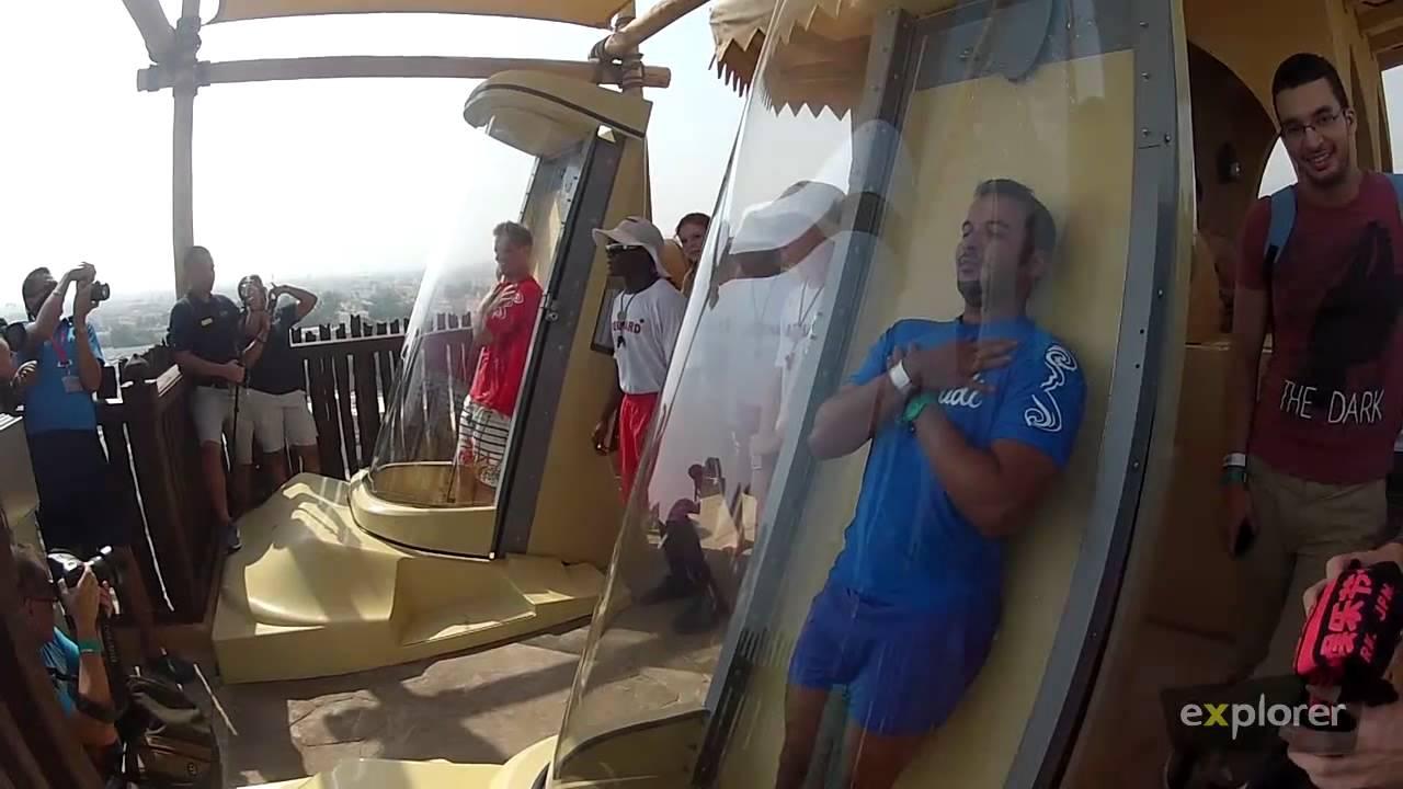 The New Jumeirah Sceirah At Wild Wadi Youtube