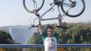 Robbinsdale man rides Bike 400 Miles To Help Others