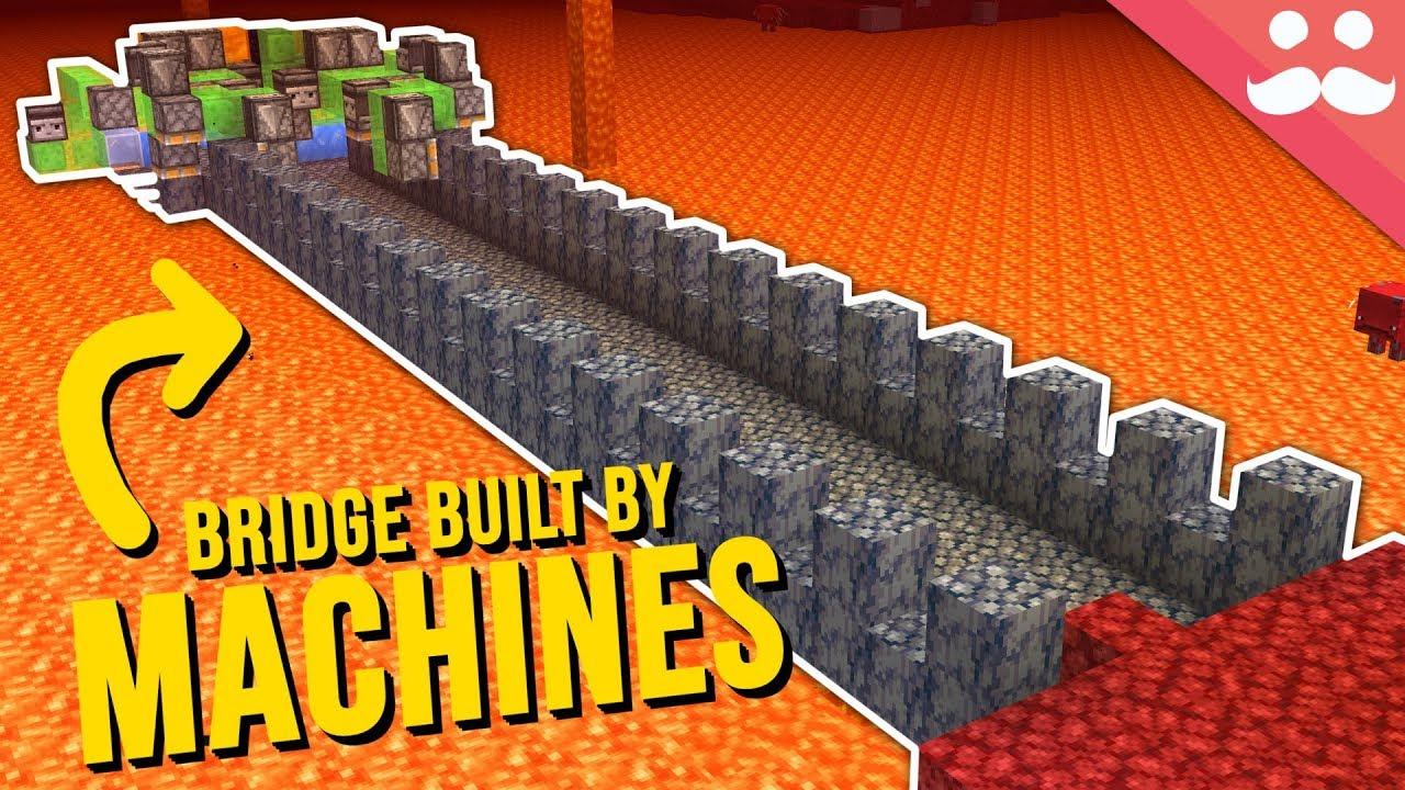 Download Self Building Bridges in Minecraft 1.16
