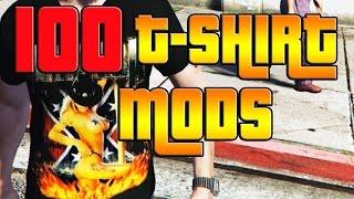 GTA V TOP 100 T-SHIRT MODS! (PC)