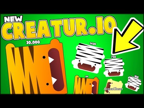 BECOMING THE WORLD'S BIGGEST TIGER ZEBRA | Creatur.IO (Amazing New IO Game XD)