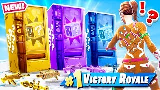 VENDING MACHINE *NEW* LUCKY BLOCKS Game Mode in Fortnite Battle Royale