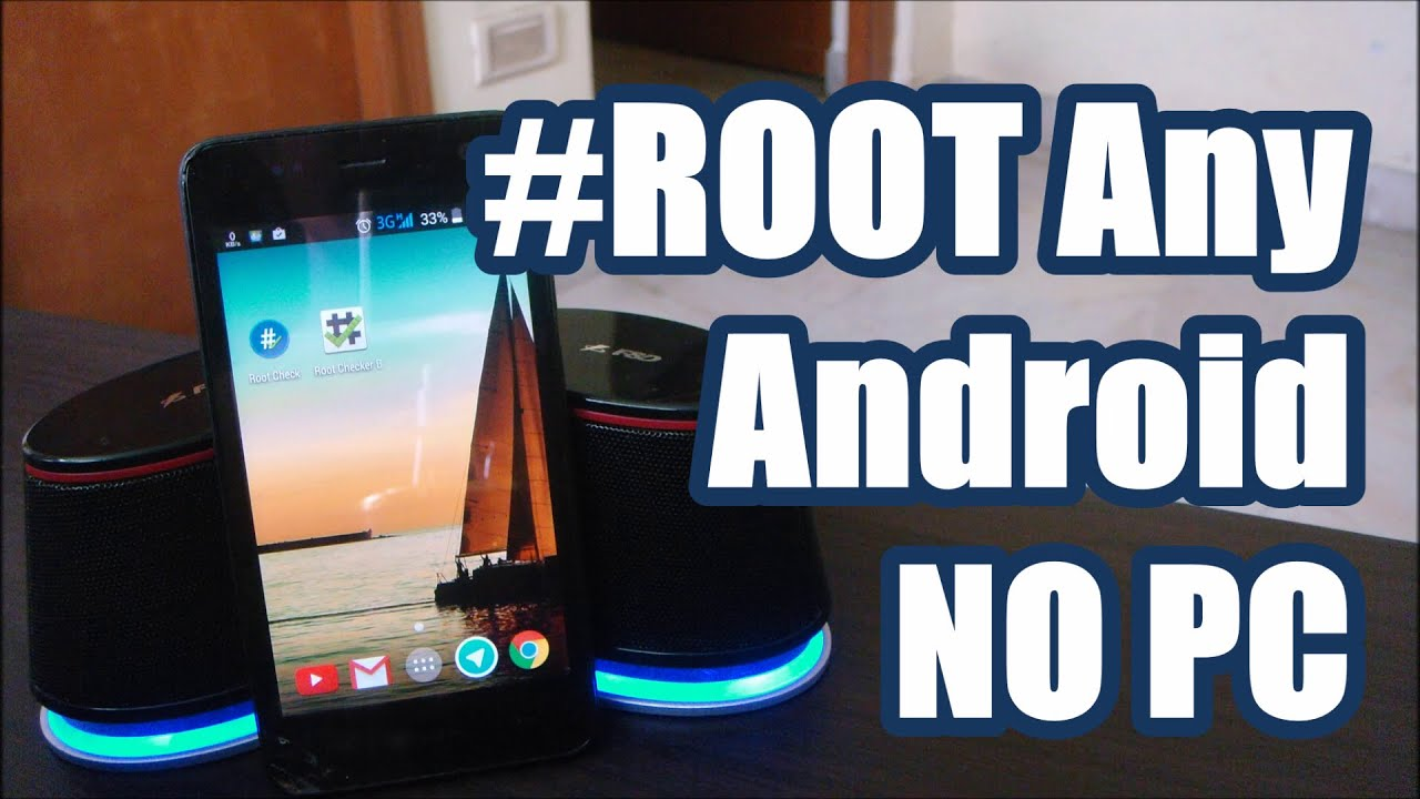 root any android with pc