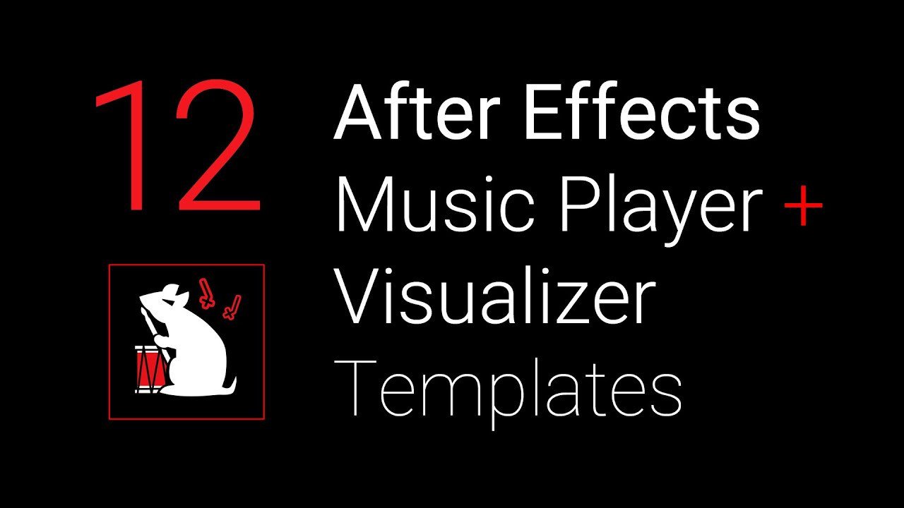 f1rstpers0n 39 s music player visualizer after effects. Black Bedroom Furniture Sets. Home Design Ideas
