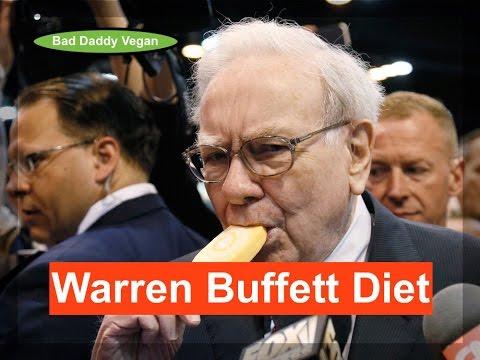 Warren Buffett Diet / thriving on junk food