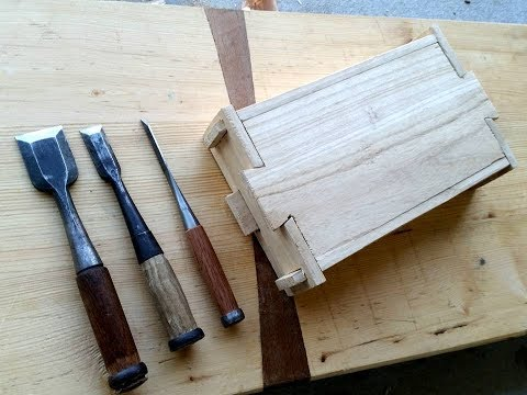 Beginning Japanese Woodworking || Making a Chisel Box