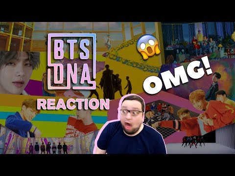 BTS  방탄소년단 DNA  MV Russian REACTI РЕАКЦИЯ