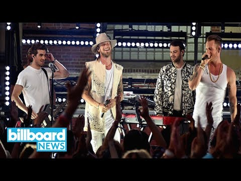 Chainsmokers Perform Last Day A With Florida Georgia Line at CMT Music Awards  Billboard News