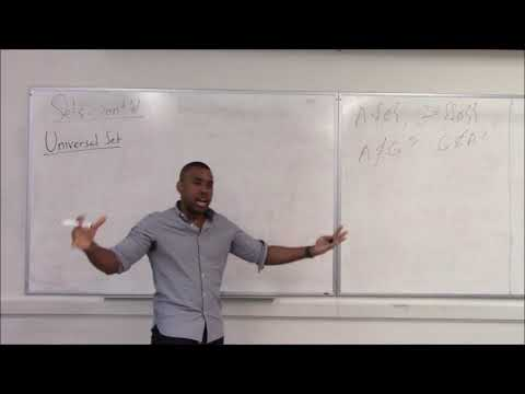 Math 308 Lecture 2 - More of sets: Set operations; Indexed Sets; Partitions; Cartesian Products