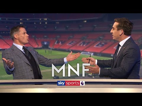 Carragher and Neville have HEATED debate about Tottenham!   MNF