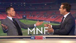 Carragher and Neville have HEATED debate about Tottenham! | MNF