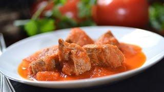 Beef In Morita Cilli Pepper Sauce