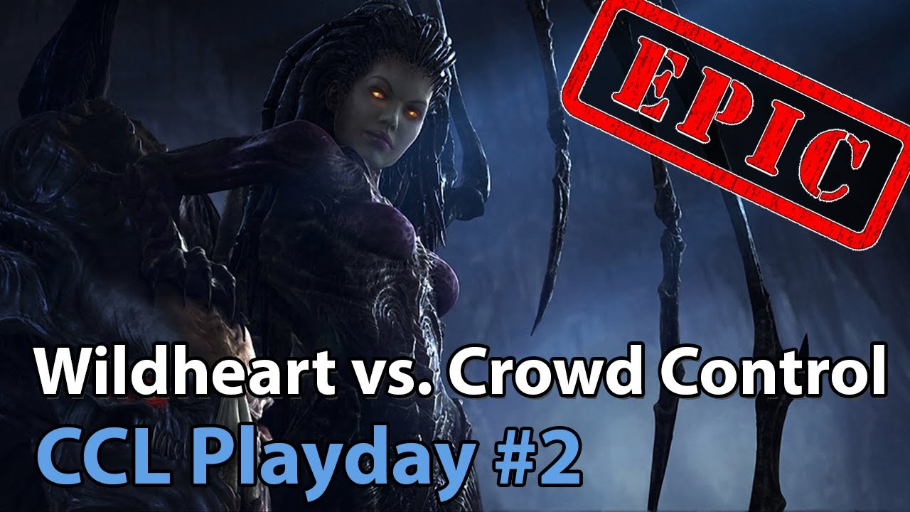 CCL: Crowd Control vs. Wildheart - Heroes of the Storm Tournament