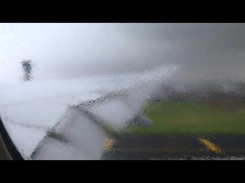 Boeing 777-300er thunderstorm takeoff from Mumbai