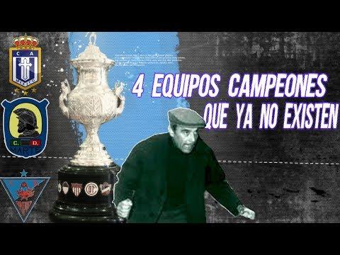 4 Equipos CAMPEONES que Ya no EXISTEN Boser Salseo Futbolero MicroTop