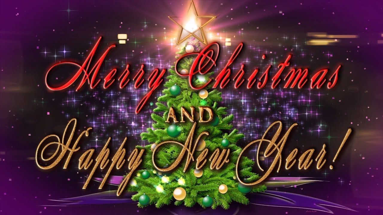 merry christmas and happy new year 4k animation greeting card youtube merry christmas and happy new year 4k animation greeting card