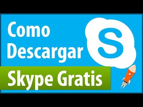Como Descargar Skype Gratis  Windows 788.110 Ultima Versión