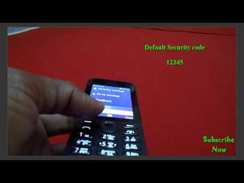 HOW TO HARD RESET NOKIA 222