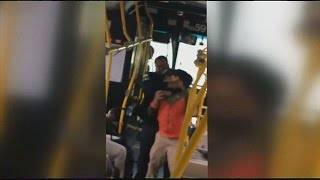 CAUGHT ON VIDEO: Maryland Bus Driver KICKS Man On CRUTCHES After HEATED ARGUMENT!!