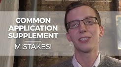 Common Application Supplement Mistakes and Rice University Admissions