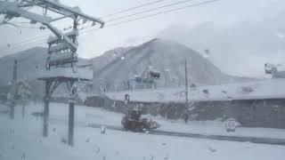 【豪雪の中を走行】 JR東日本 上越線 115系普通 水上→越後湯沢間走行 側面展望 M車
