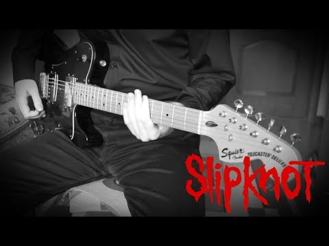 Slipknot - Child of Burning Time (HD Guitar Cover w/Solo)