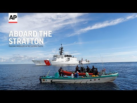 Aboard the Stratton: Tracking smugglers in the eastern Pacific