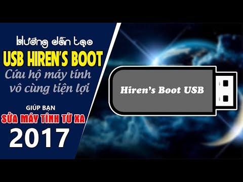 Chu Đặng Phú HƯỚNG DẪN TẠO USB HIREN'S BOOT CD ĐỂ CỨU HỘ MÁY TÍNH VÔ CÙNG ĐƠN GIẢN