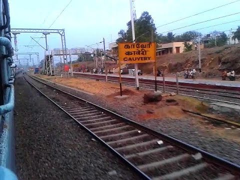 MAS-ED Yercaud Express slows down Kaveri