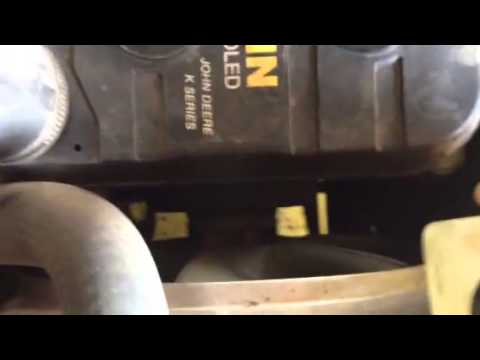 John Deere 425 Starter Wiring Diagram Remote Control Ceiling Fan Problem Youtube