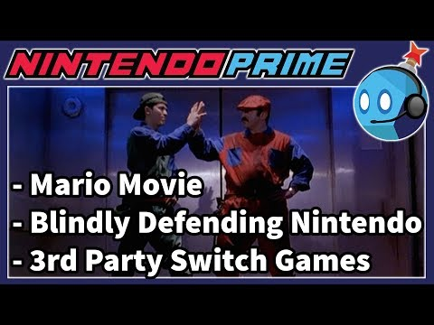 3rd Party Switch Games, Video Game Movies, & More | Nintendo Prime Podcast Ep. 40