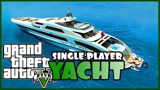 GTA 5 - Comprare lo Yacht da 8 milioni in Single Player (PC MOD)