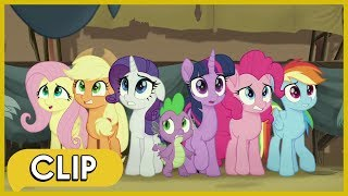 Arriving in Klugetown - My Little Pony The Movie HD