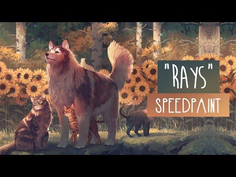 Rays | SPEEDPAINT | Photoshop CC